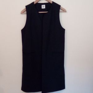 CAbi Long Tunic Duster Vest XS